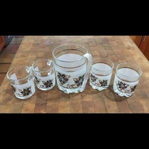 Vintage Glassware By Cerve